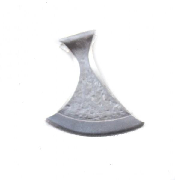 Anhänger Singende-Axt Silber