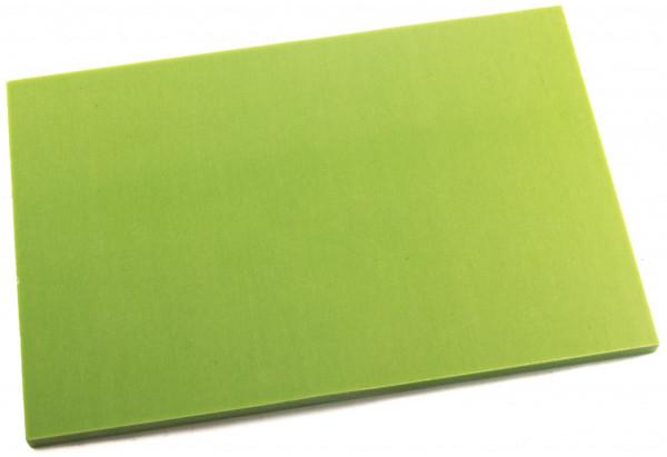 Leinen Micarta neon green Platte 9mm
