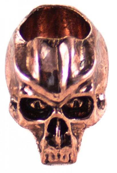 Cyber mini Skull Antik Kupfer