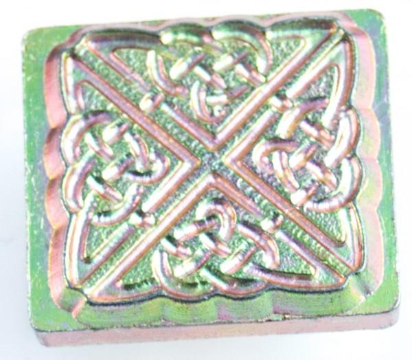 3-D Punze Keltisches Quadrat