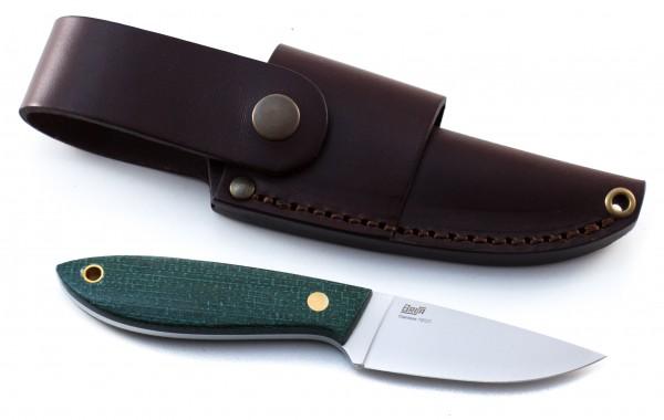 BRISA Messer Bobtail 80 Micarta green