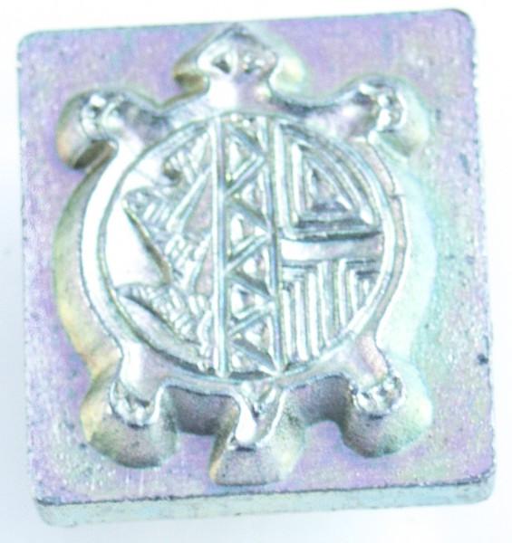 3-D Punze runde Schildkröte