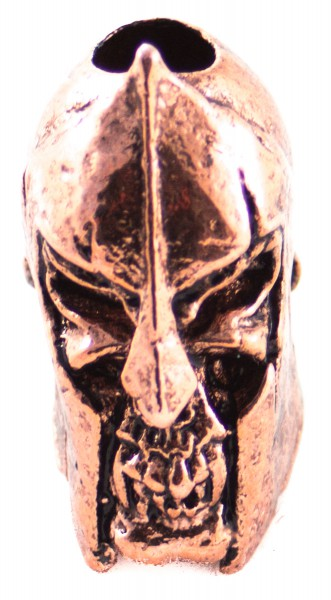 Spartan Skull Antik Kupfer