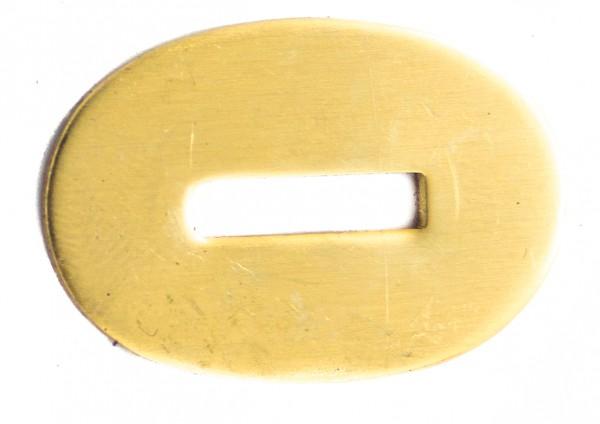 Zwischenstück aus Messing 32x21mm (Schlitzmaß: 14x3,2mm)