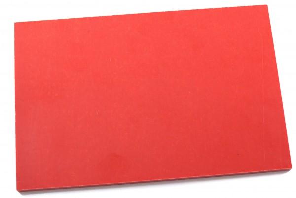 Leinen Micarta neon orange, Platte 9mm