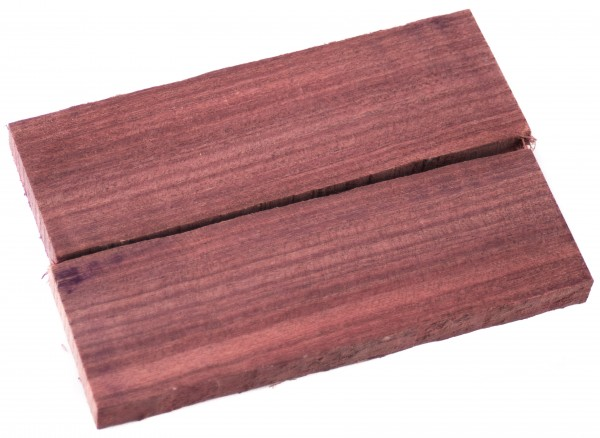 Holz Amaranth, Griffschalenpaar