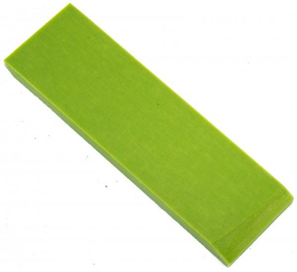 Leinen Micarta Pistazien grün, Griffschalenpaar 8mm