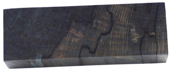 Raffir® stabilisierte Buche gestockt, cross cut blau