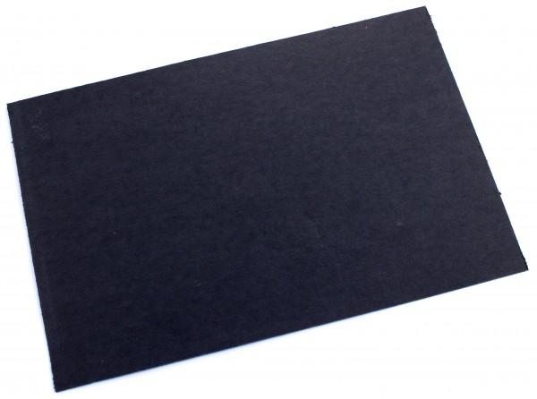 Vulcanfiber schwarz 0,8mm / große Platte