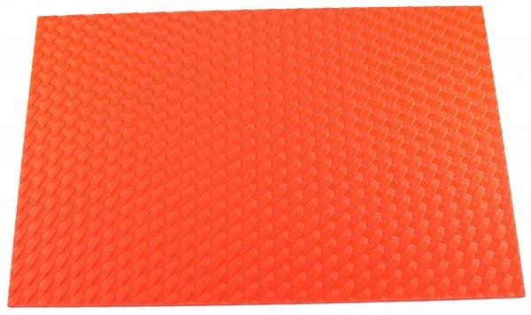 HOLSTEX® Platte 2mm Basket Weave, Hunter orange (ca. 300 x 200mm)