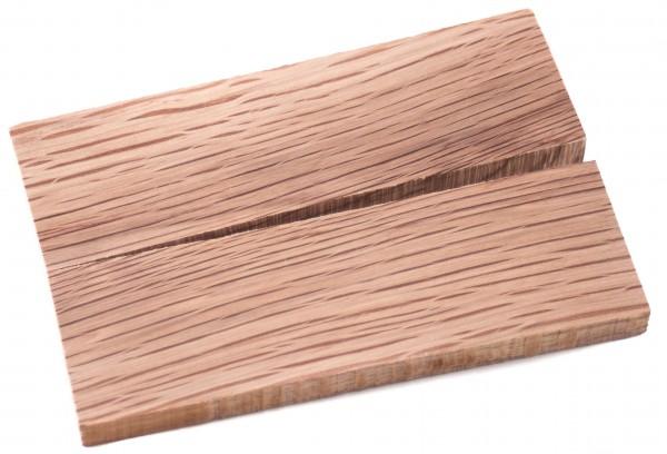 Holz Steineiche, Griffschalenpaar