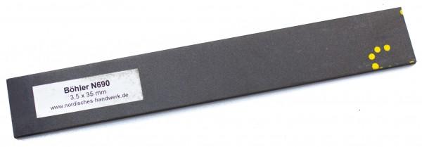 Stahl - 1.4528 - ca. 3,5 x 35mm / 23 cm lang