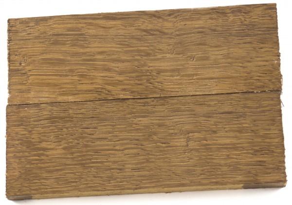 Holz Mooreiche hell, Griffschalenpaar
