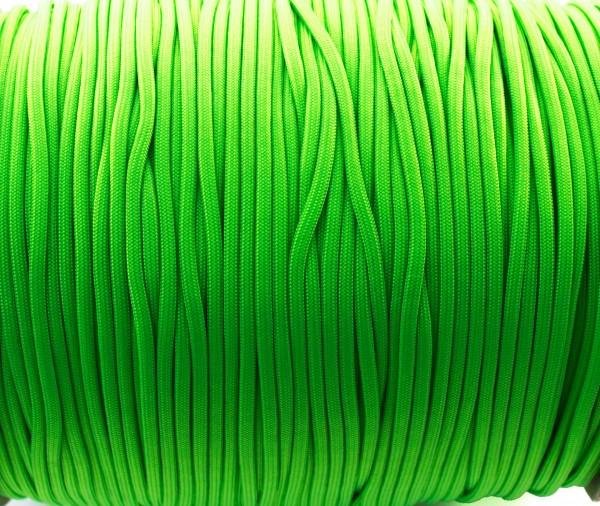 Paracord 550 - 5m neon grün