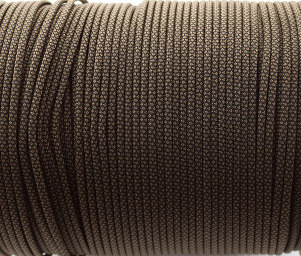 Paracord 550 - 5m Coyote braun snake