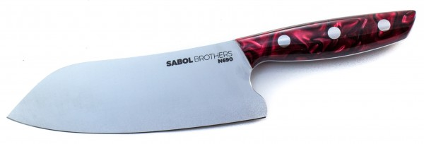 SabolBrothers Kochmesser kleines Santoku, Kirinite True blood