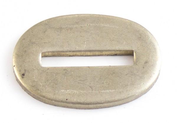 Passung Neusilber 21x32x3mm - Schlitzmaß: 20x3,2mm