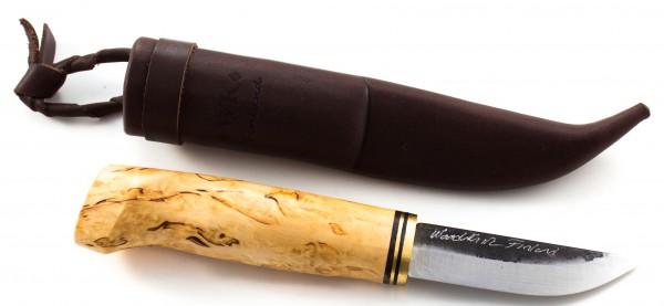 WoodsKnife Messer Traditionell 77, carbon schwarze Klinge