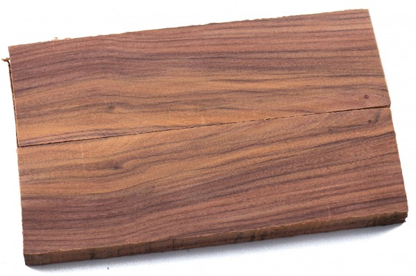 Holz Santos Morado (Ironwood) Griffschalenpaar