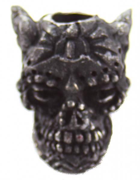 Aquillo Sugar Skull Bead schwarz