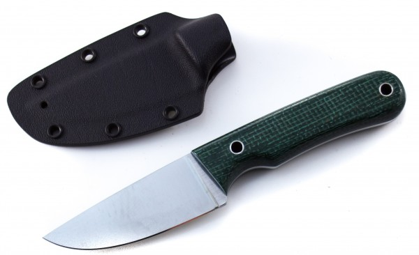 SabolBrothers Nordic Mini F Micarta grün (3-Finger Messer)