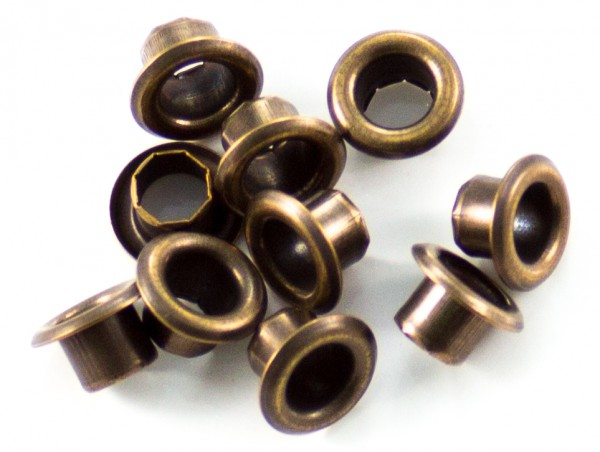 Eyelet (Öse) 4,5mm altmessing, klein (10er-Packung)