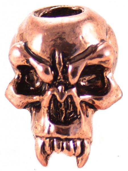 Fang Skull Antik Kupfer