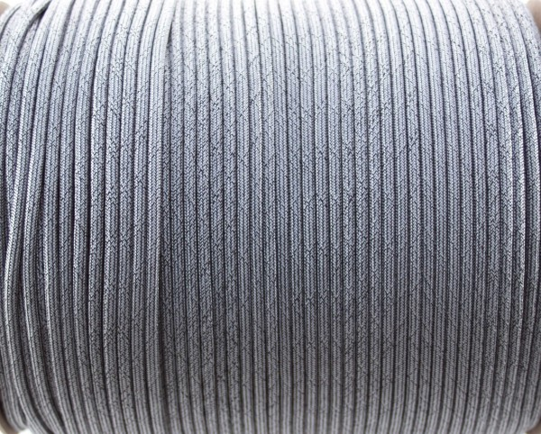 Paracord 550 - 5m Dirty grey/silver