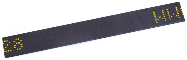 Stahl - 1.4528 - ca. 2,5 x 30mm / 23 cm lang