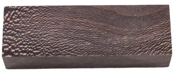Raffir® stabilisiertes Platanenholz schwarz