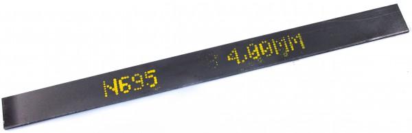 Stahl - 1.4125 - ca. 4,0 x 40mm / 50 cm lang