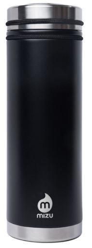 MIZU V7 - Enduro Black (700ml, vakuum isoliert)