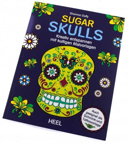 Buch Sugar Skulls (Ausmalbuch für Erwachsene)