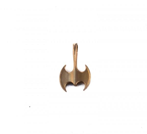 Anhänger Minoische Doppelaxt Bronze