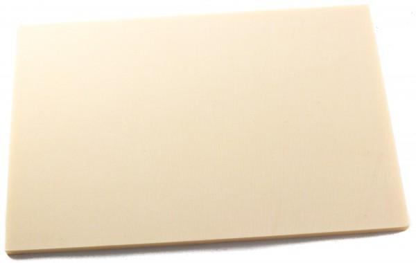 Leinen-Micarta elfenbeinmicarta Platte 8mm