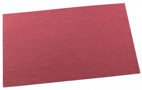 Vulcanfiber rot 0,5mm / große Platte