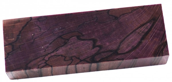 Raffir® stabilisierte Buche gestockt, cross cut purple