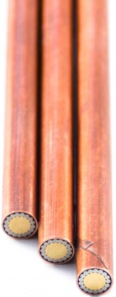 Mosaik-Pin, 6mm, Kupfer