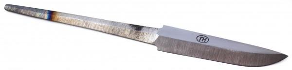 Messerklinge Teemu Häkkilä poliert carbon