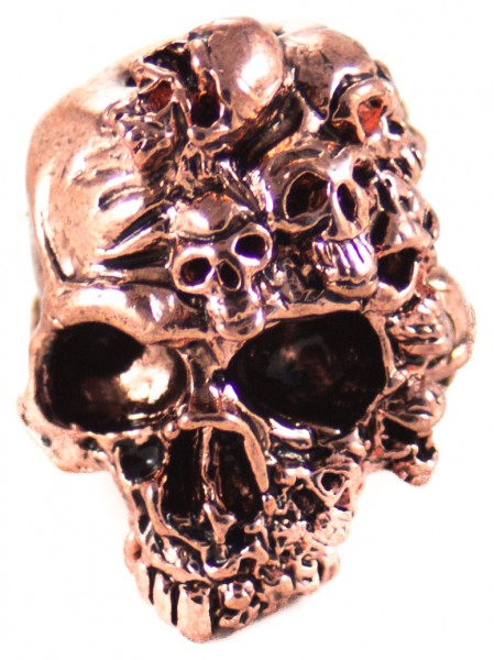 Geist Skull Antik Kupfer