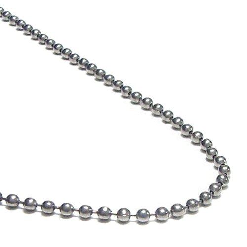 Titanium Kette 2,4mm - ca. 1m Länge
