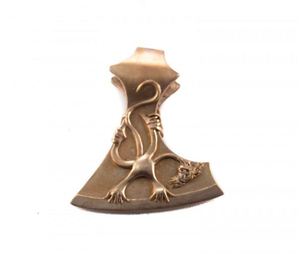 Anhänger Skoppa Axt Bronze