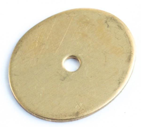 Zwischenstück aus Messing 34x28mm, 1,5mm