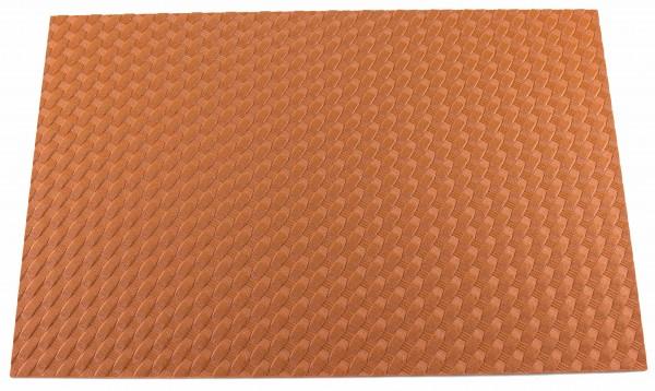 HOLSTEX® Platte 2mm Basket Weave, London Tan (ca. 300 x 200mm)