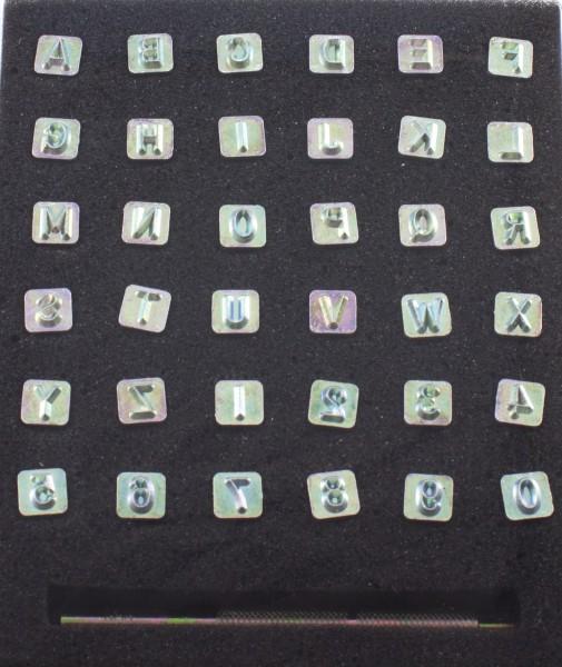 Punzier-Set Alphabet mittel