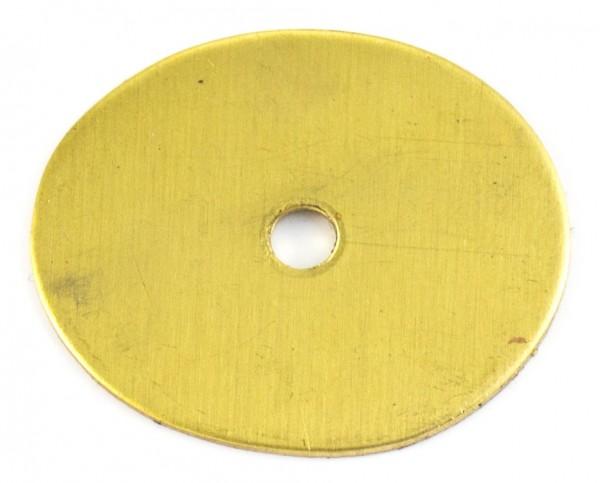 Zwischenstück aus Messing 33x28mm, 1mm