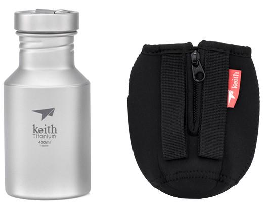 Keith Titanium Trinkflasche 400ml